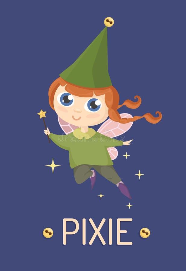 Pixie royalty free stock photo