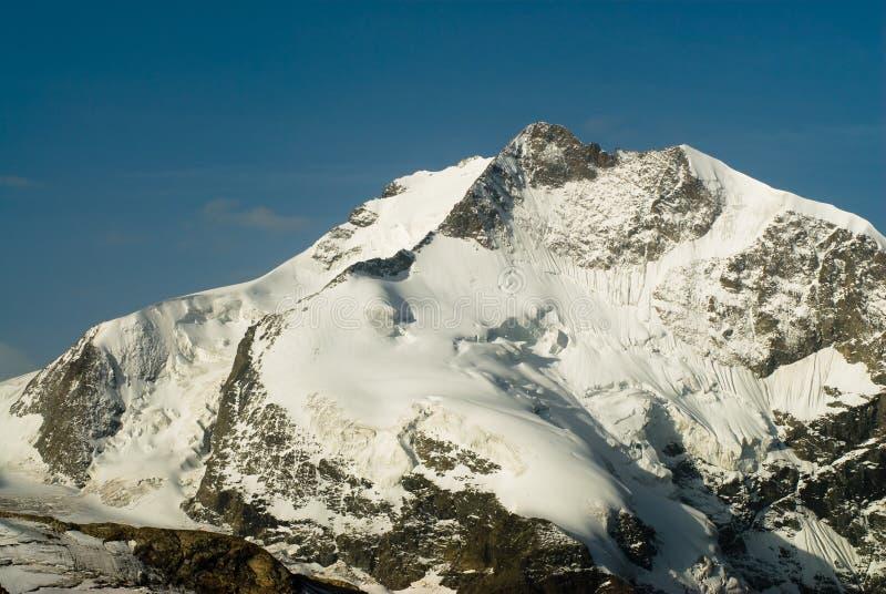 Piz Bernina foto de stock