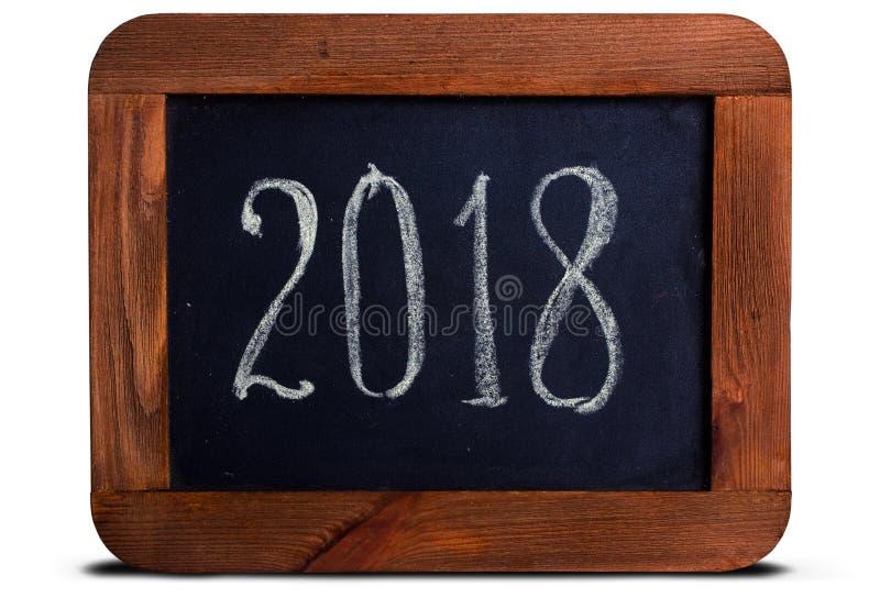 Pizarra 2018 fotos de archivo