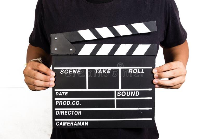 pizarra de la película foto de archivo libre de regalías