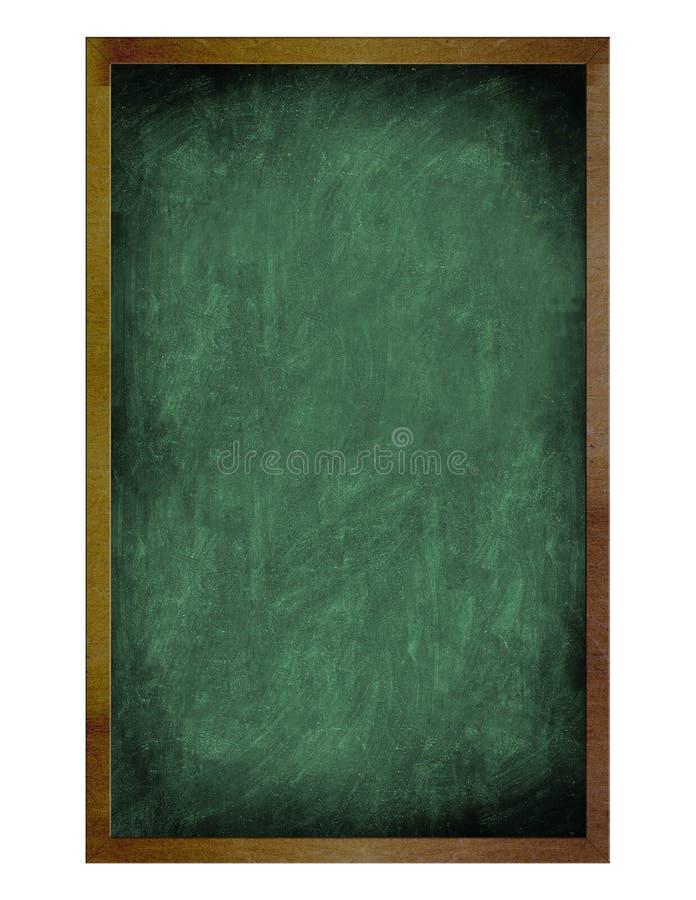 Pizarra vieja en blanco aislada foto de archivo libre de regalías