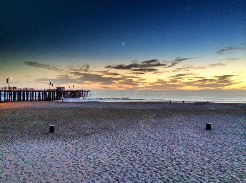 Pizmo strand fotografering för bildbyråer