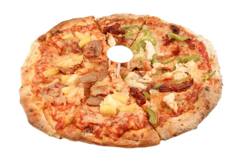 Pizz italiano redondo fotografía de archivo