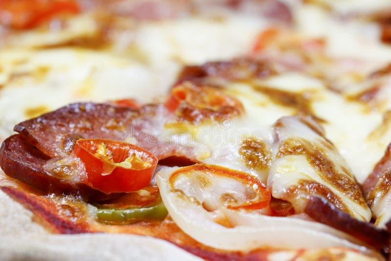 Pizz polewy obraz stock
