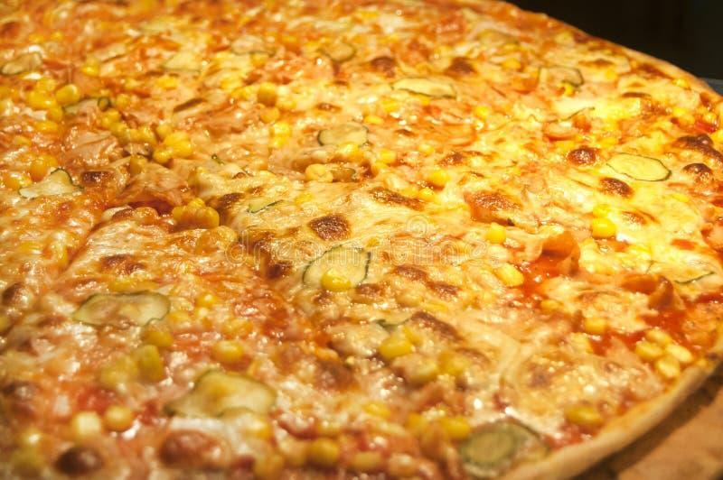 Pizza à aller par des morceaux photographie stock libre de droits