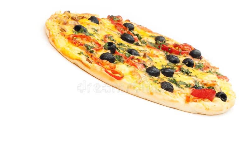 Download Pizza obraz stock. Obraz złożonej z dinner, folował, jedzenie - 13340799