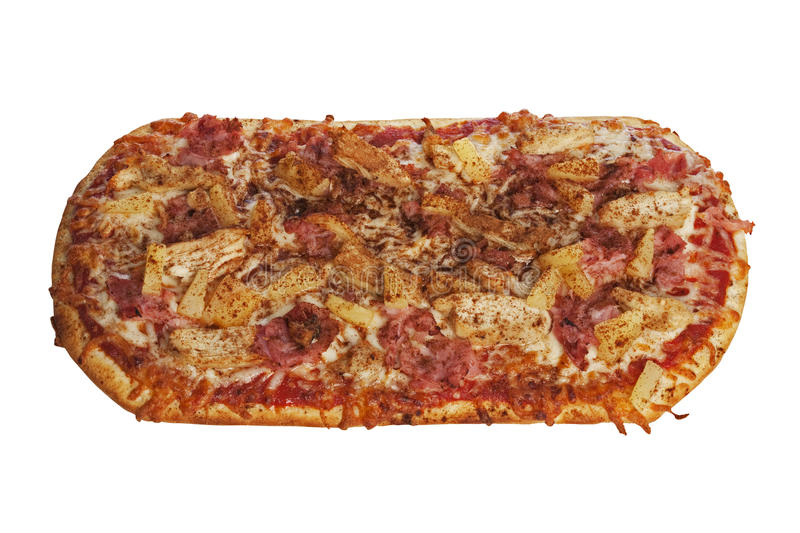 Download Pizza stock photo. Image of hawaiian, meal, baked, dough - 16297044