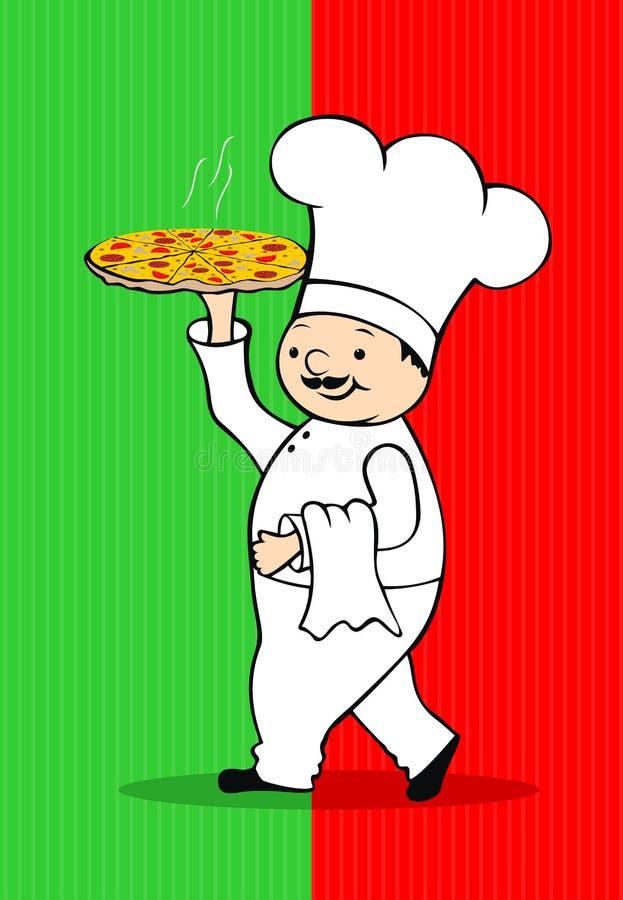 pizza stock illustrationer