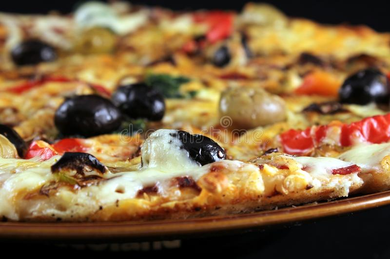 Download Pizza stock image. Image of cheese, delicous, food, free - 19500563