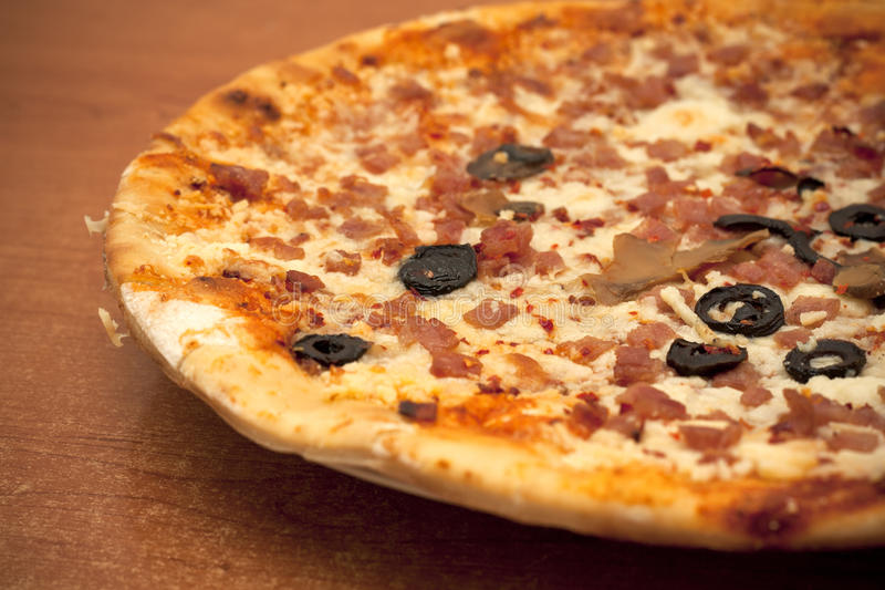 Download Pizza stock photo. Image of food, bacon, gourmet, party - 19952710