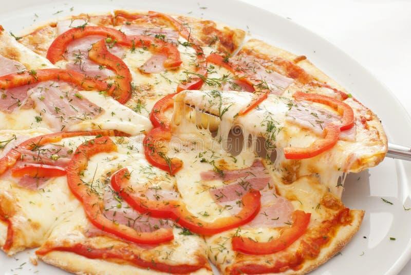 pizza royaltyfria bilder