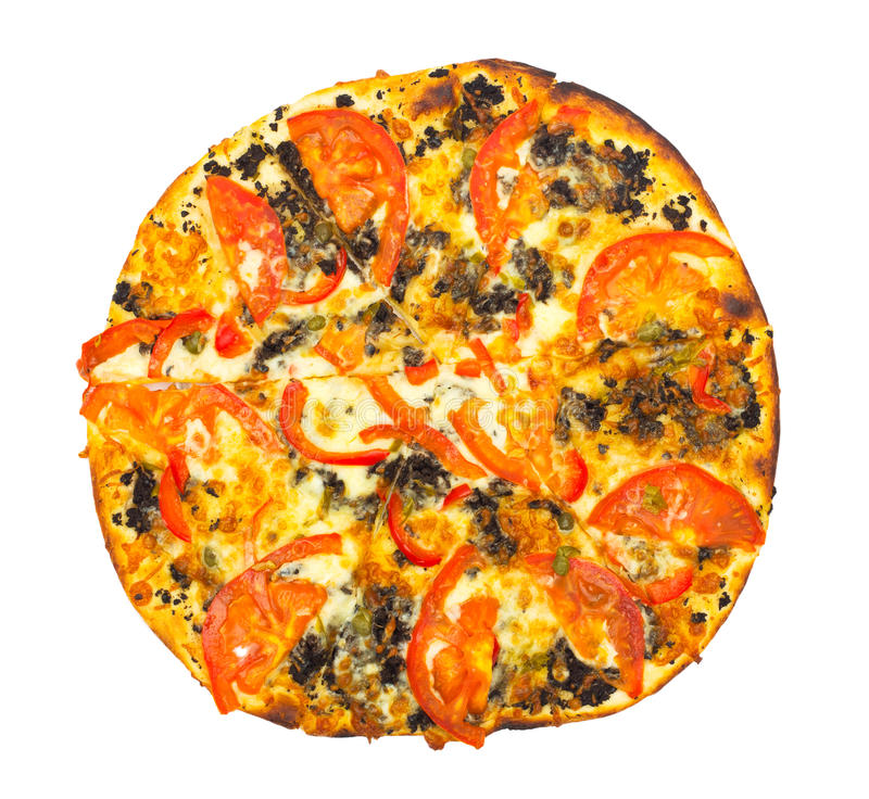 Download Pizza stock photo. Image of food, calorie, crunch, hungry - 22305506