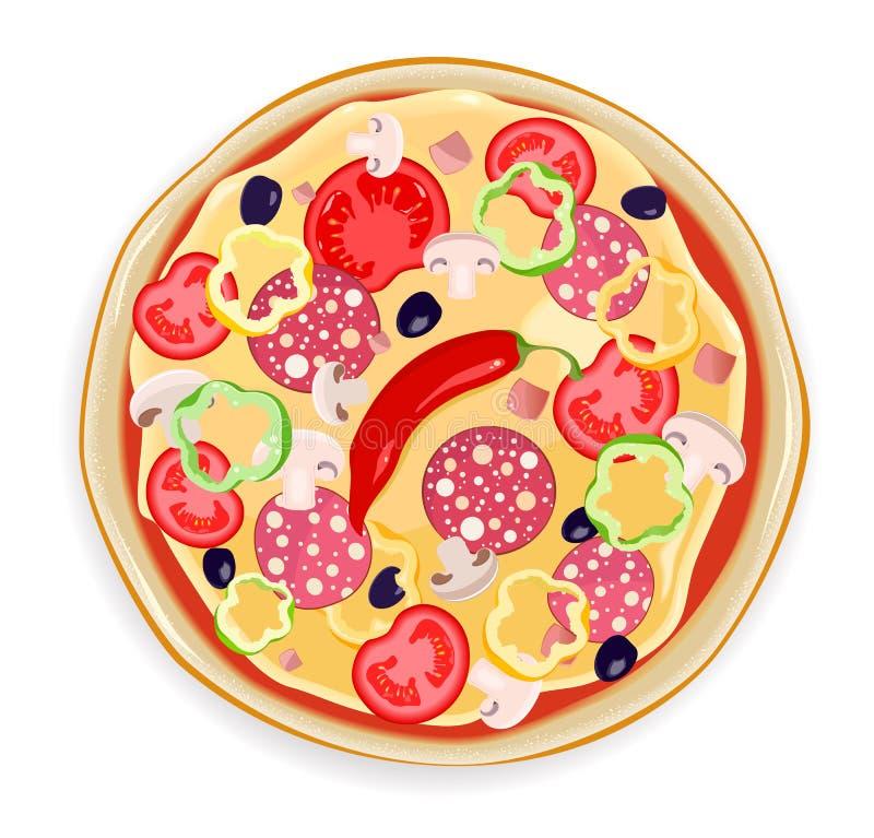 Pizza vector illustratie