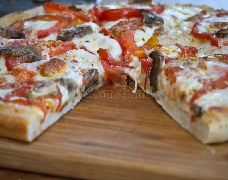 Download Pizza stock photo. Image of cooking, italian, crust, dinner - 23190878