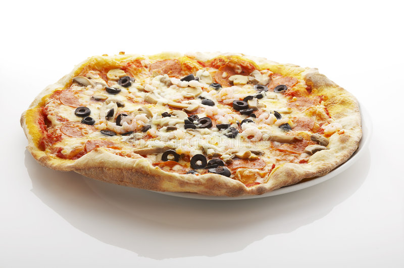Download Pizza stock photo. Image of fastfood, ristorantte, gourmet - 2985434