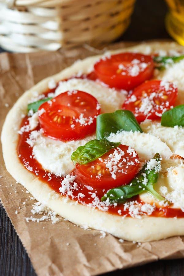 Pizza. imagen de archivo