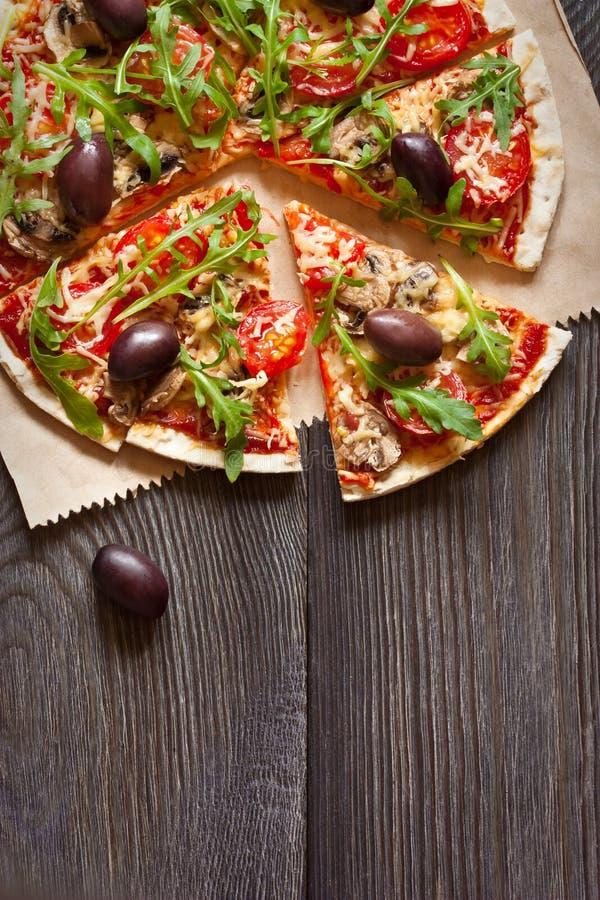 Pizza. immagine stock