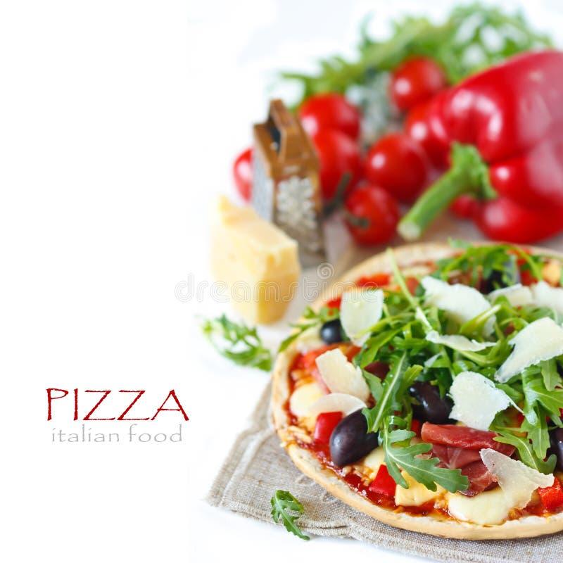 Pizza. fotografie stock libere da diritti