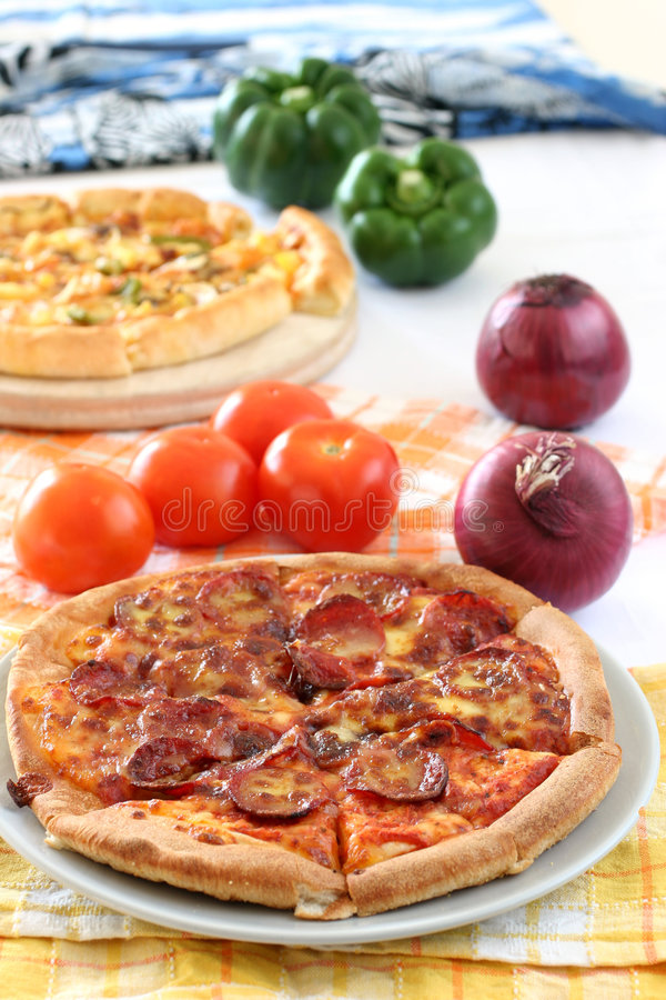 Pizza fotos de stock