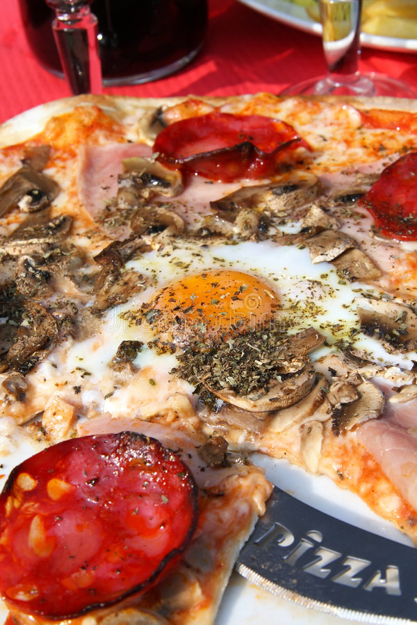 Download Pizza stock image. Image of olive, backed, pizza, italy - 4625761