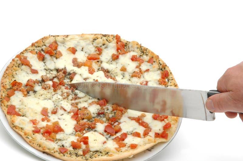 Pizza 5 van Margherita royalty-vrije stock afbeeldingen