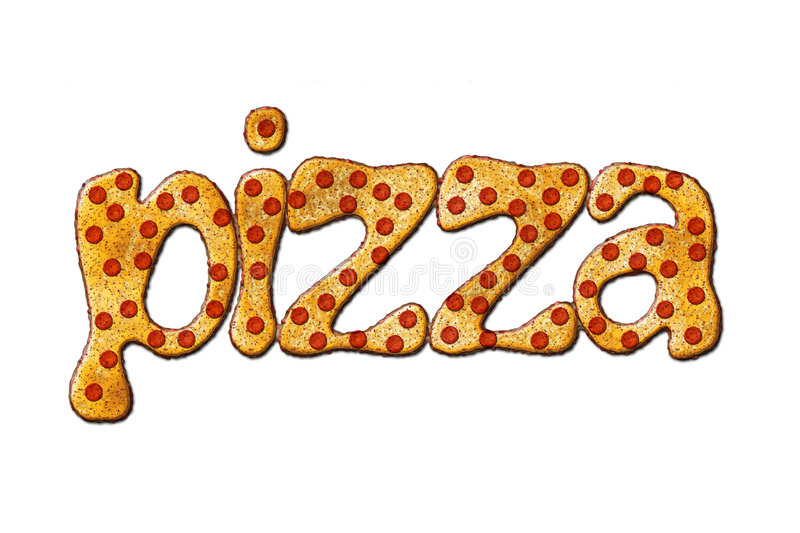Pizza stock illustratie