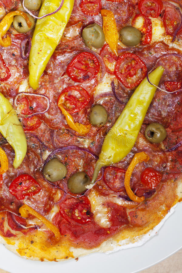 Pizza fotografia stock