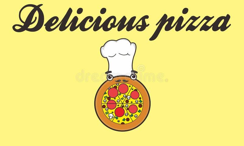 Pizza illustration stock
