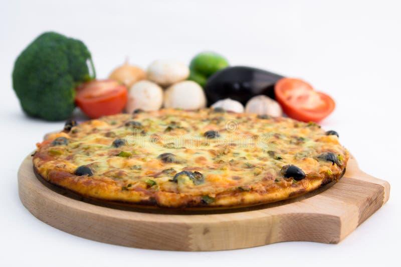 Pizza stock afbeelding