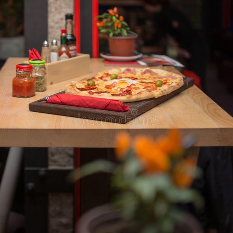 Pizza arkivfoton