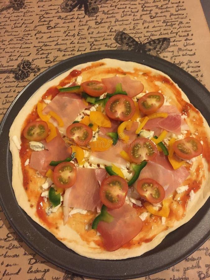 Pizza imagen de archivo libre de regalías