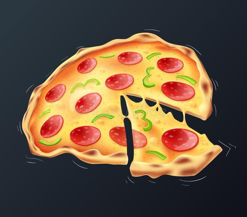 Pizza lizenzfreie abbildung