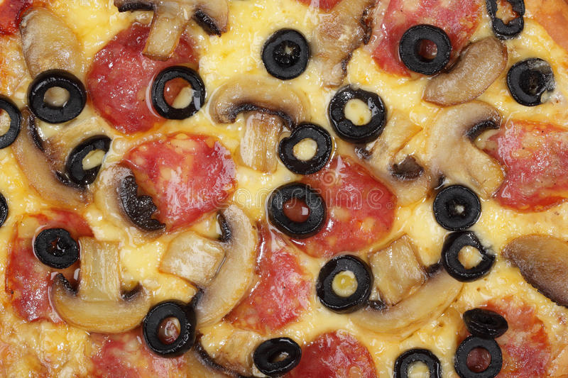 Pizza background stock images