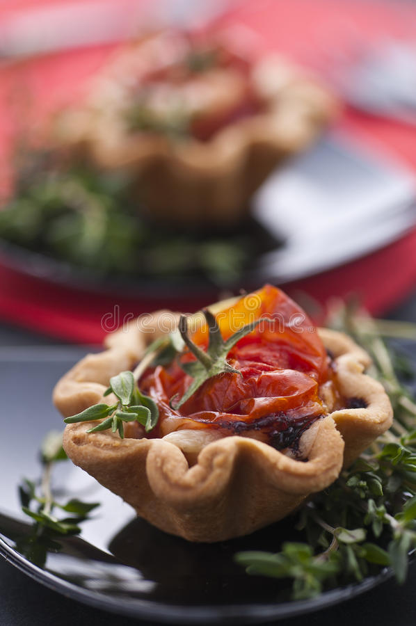Pizza-basket royalty free stock images