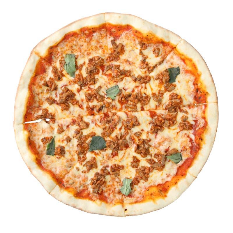 Pizza bolognese royalty-vrije stock fotografie