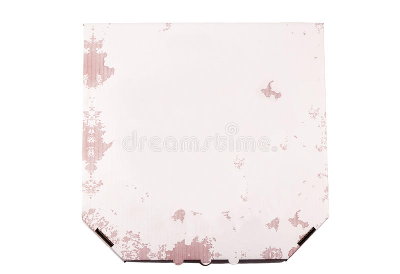 Pizza boxes royalty free stock photography