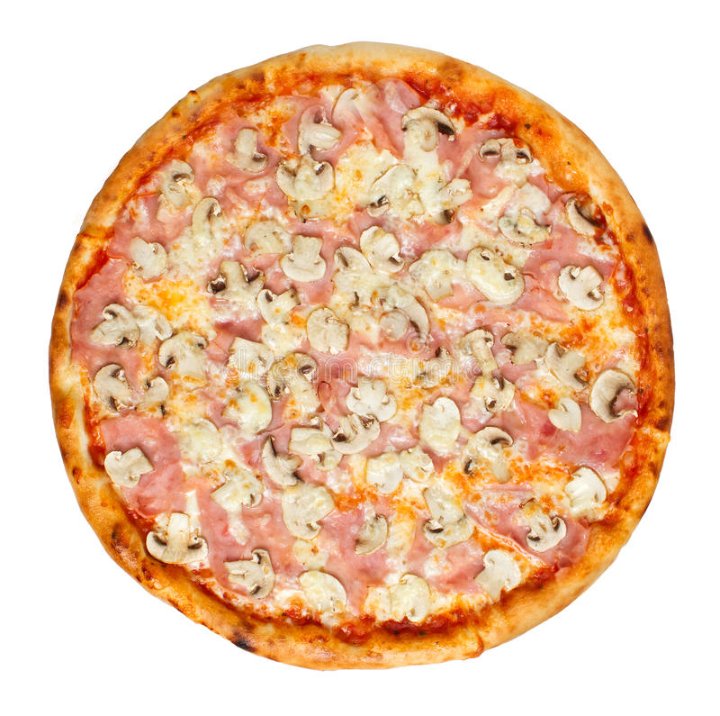 Pizza Capricciosa royalty-vrije stock foto