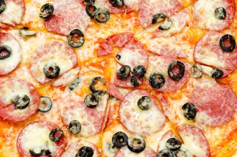 Pizza, closeup stock photo