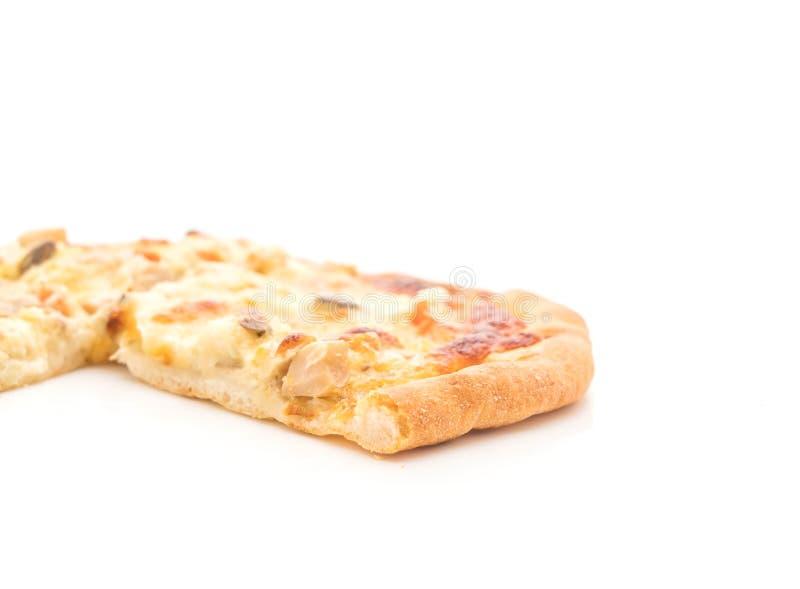 pizza cremosa de la seta fotos de archivo libres de regalías