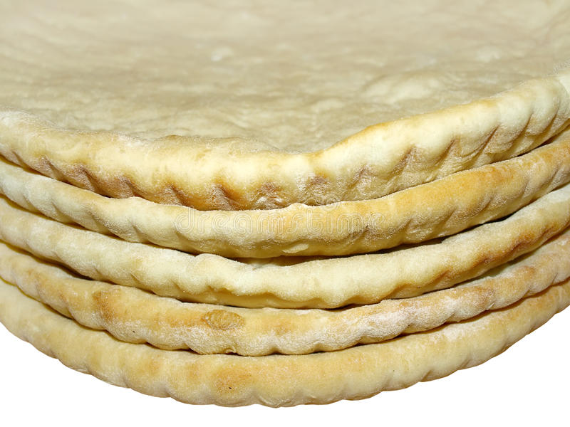 Download Pizza crusts, close-up stock image. Image of flour, faced - 23345839