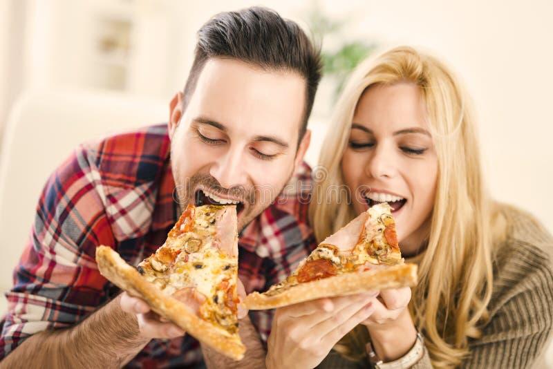 Pizza czas zdjęcie stock
