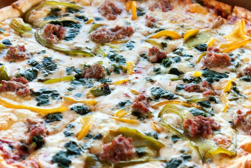 Pizza da combinação da especialidade foto de stock royalty free