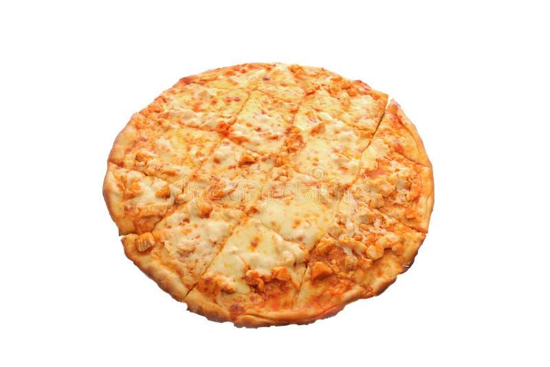 Pizza da galinha do estilo do búfalo fotografia de stock royalty free