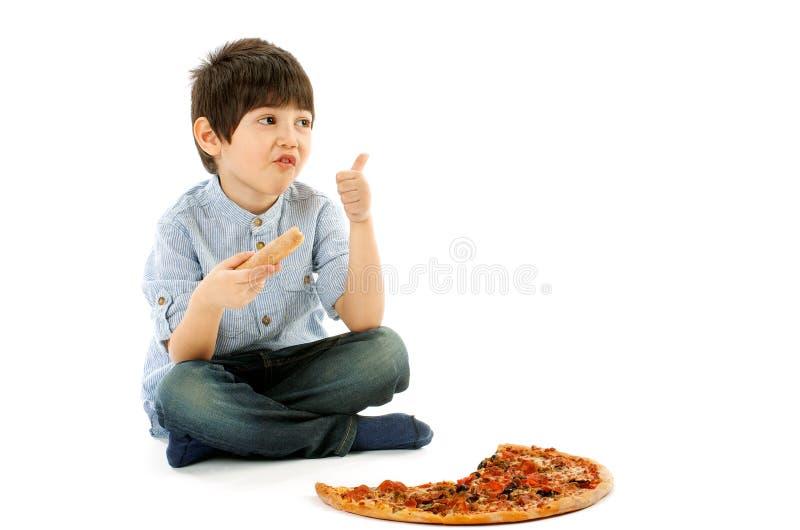 Pizza das Beste stockfotografie