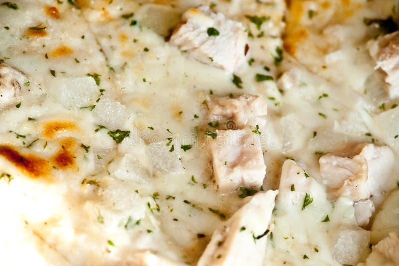 Pizza de Caesar del pollo fotos de archivo libres de regalías