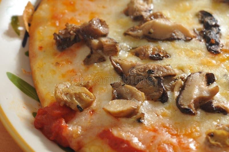 Pizza de champignon image stock. Image du nourriture - 58610347