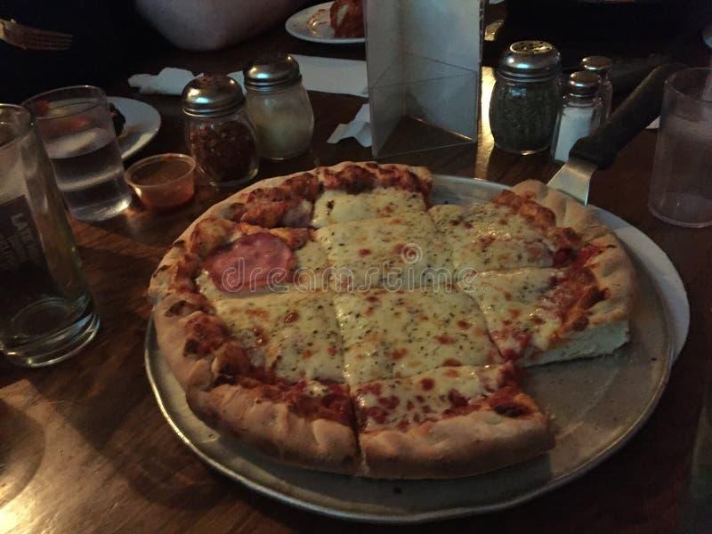 Pizza de Chicago fotos de archivo libres de regalías