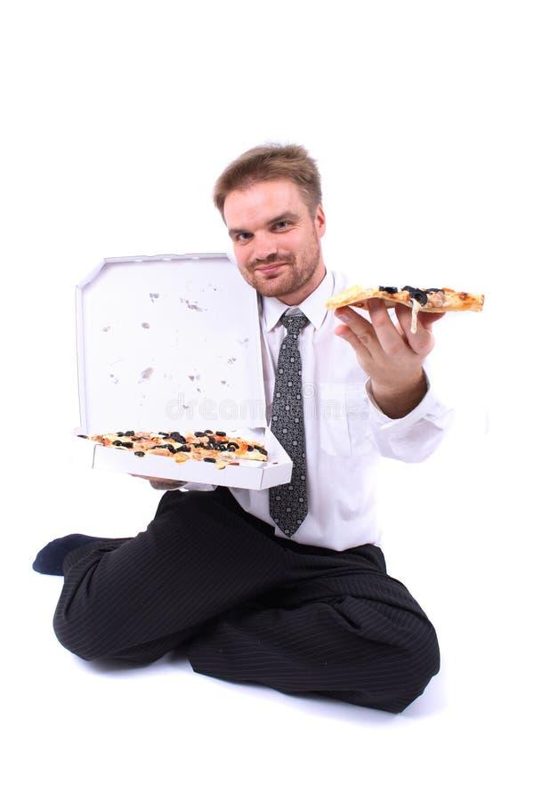 pizza de gestionnaire photos libres de droits