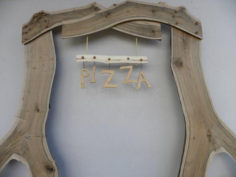 Pizza de la cartelera imagenes de archivo