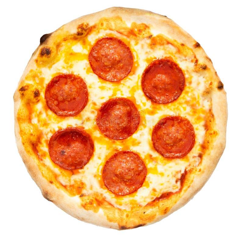Pizza de Pepperoni imagens de stock royalty free
